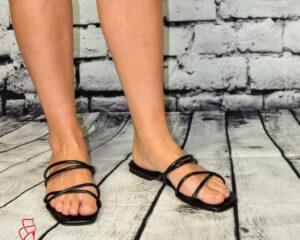 Valentina Lapos talpú papucs