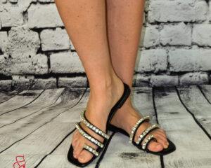 Vanessa Lapos talpú női papucs